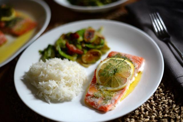 lemon dill butter salmon 1