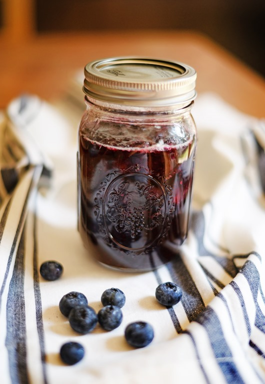 Blueberry Compote Soupbelly