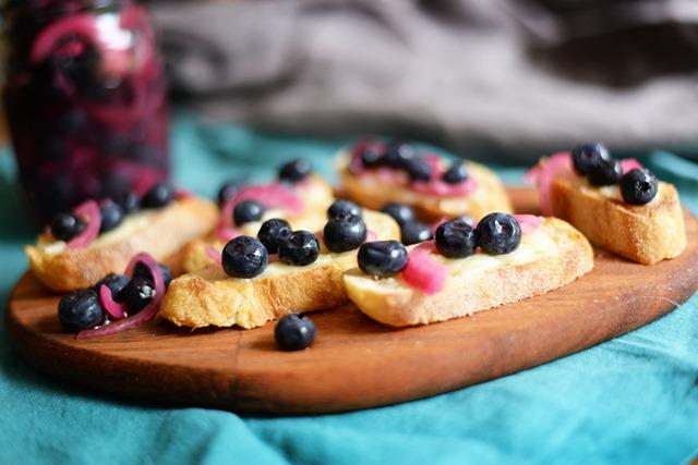 pickled blueberries 1