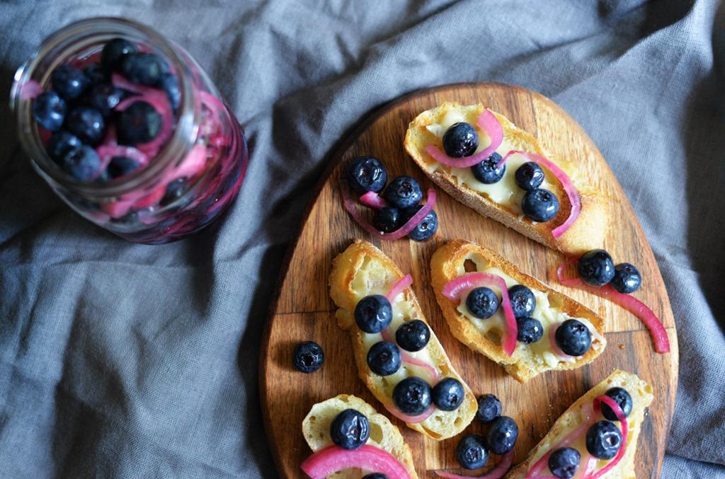 Pickled Blueberries