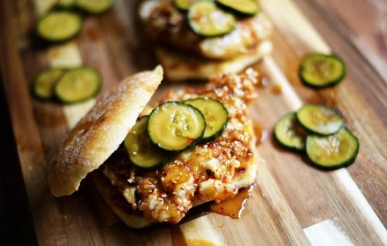 Korean Fried Chicken Sandwich