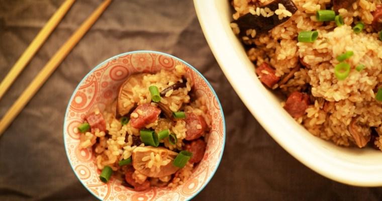 Naw Mi Fan in a Rice Cooker