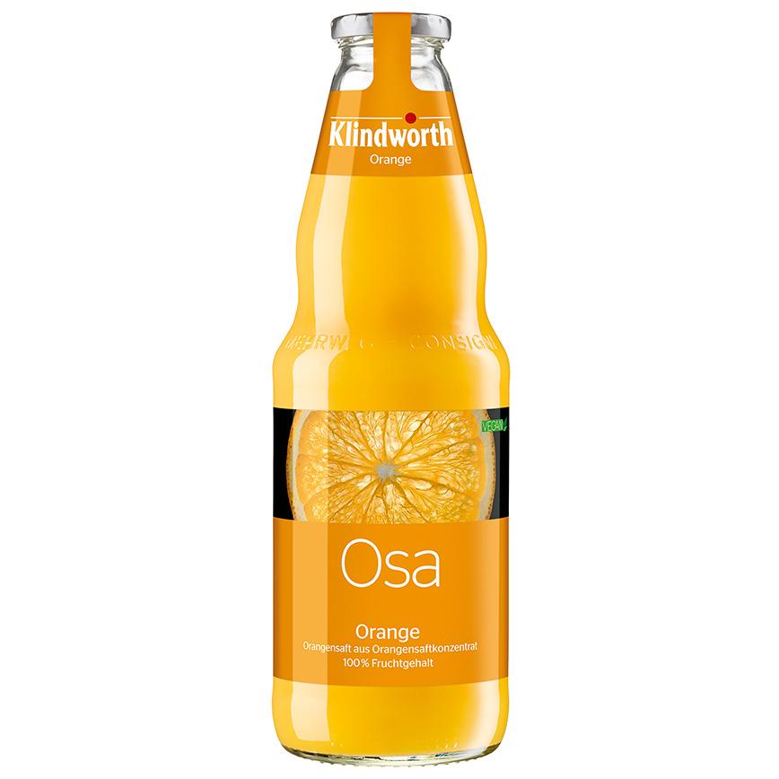 ASA Orangensaft klar 1L