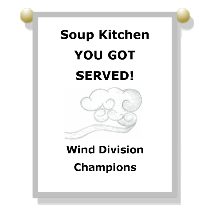 2016 Wind Division Champions