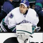 Luongo on the bench