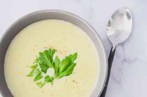 Keto Celery Soup Hero