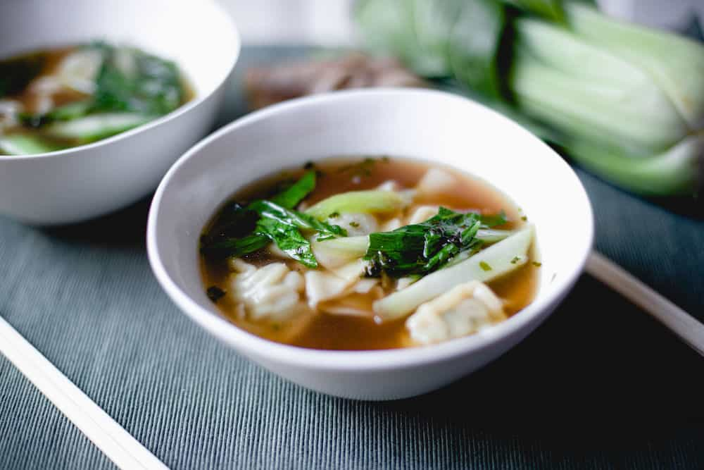 Instant Pot Wonton Soup Hero