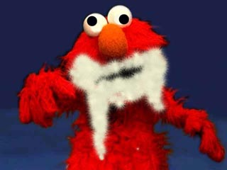 Image result for elmo foaming at the mouth