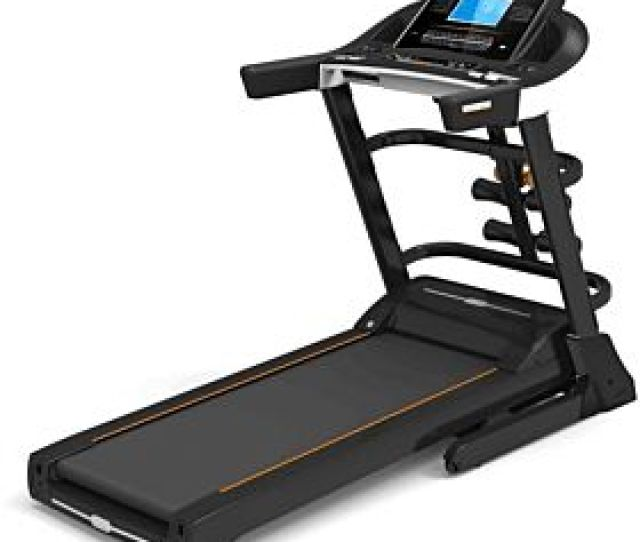 Marshal Fitness Hi Capacity Low Noise Two Motors Heavy Duty Home Use Treadmill Spkt