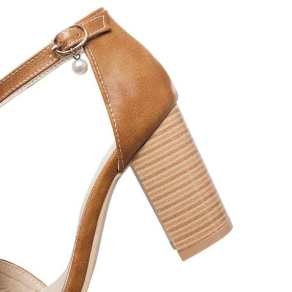 BLXQPYT Real Sandalias Mujer Big Size 32-50 Shoes Women Sandals High Heels Sapato Feminino Summer Style Chaussure Femme T8611 4