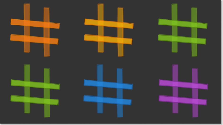 Multiple Hashtags