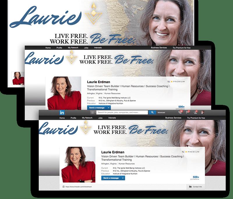 Laurie Erdman social media images