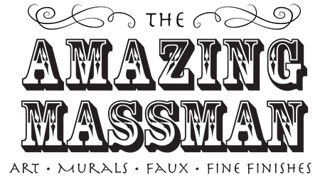 The Amazing Massman logo design