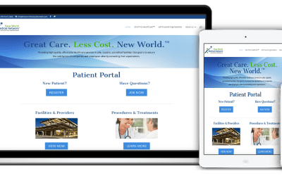 Medical tourism site re-design