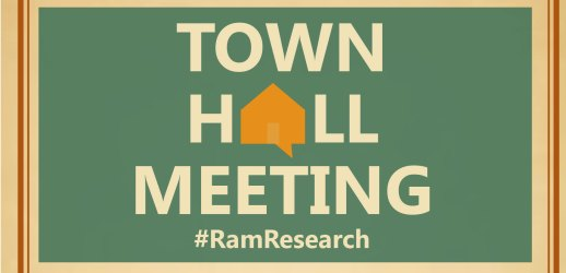hall town meeting questions research community invites vp source invited attend vice campus nov annual president second