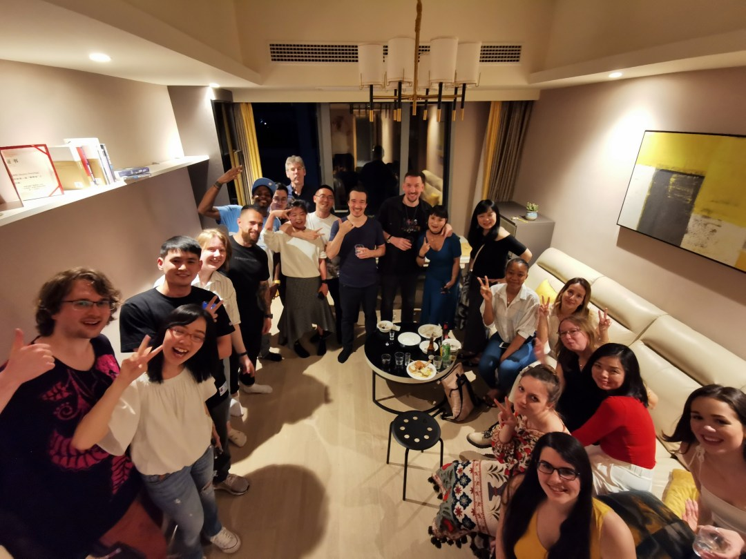 Post-pandemic house parties in Chongqing: safe, and fun!