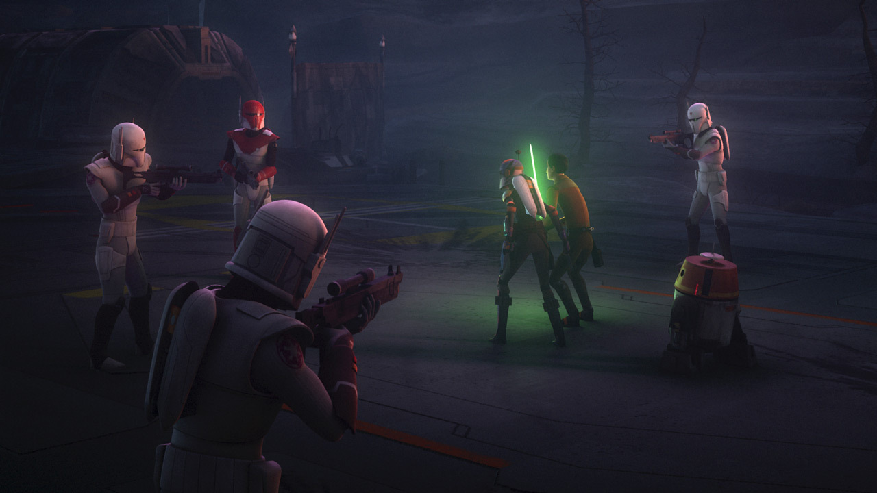 Image result for star wars rebels scene