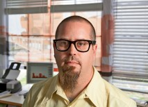 Alumnus Michael McClure, RA, is also an associate professor of architecture at the University of Louisiana at Lafayette. (Philip Gould)
