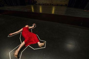 Sarah Azizo as Jane Nelson. (Photo: Joe Angeles/Washington University.)