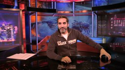 Bassem Youssef visits The Daily Show in June 2012.