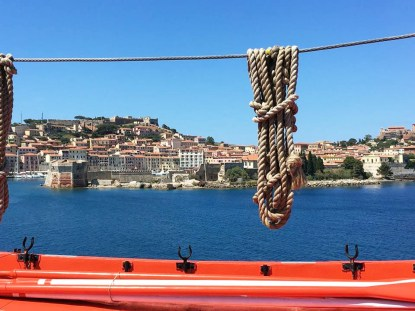Students from the Sam Fox School embark on a one-week Italian language and cultural immersion program on the island of Elba as part of the 2017 Florence Summer program. (Photo by Courtney Cushard)
