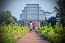 """The """"jewel of Forest Park,"""" the uniquely beautiful Jewel Box is another reason Forest Park helps St. Louis top the survey. (Photo: James Byard/Washington University)"""