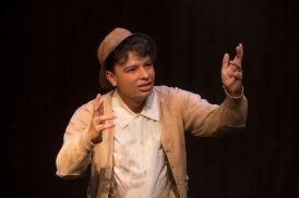 Victor Mendez as Old Man Strong. (Photo: Jerry Naunheim Jr./Washington University)