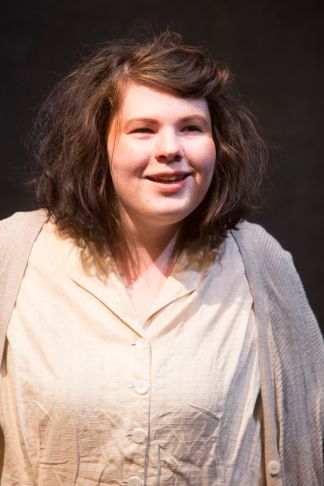 Abigail Wippel as one of The Poor. (Photo: Jerry Naunheim Jr./Washington University)