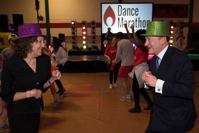 Wrightons dancing