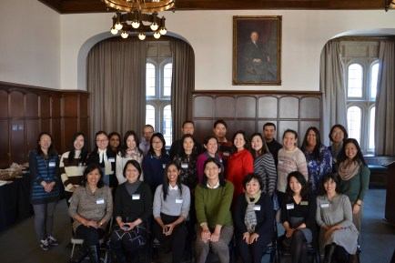 The second annual APIDA (Asian Pacific Islander Desi American) Faculty and Staff Luncheon took place Feb. 2 in in Brown Hall Lounge. To learn more about the group, visit its website. (Photo courtesy of Jody Mitori)