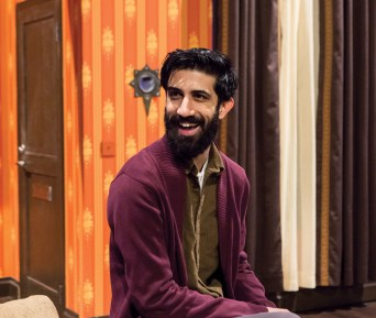"Alumnus Sathya Sridharan was cast as a local mosque leader 'Hamza Jameel' in ""An Ordinary Muslim."""