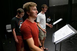 From left: Camden Sabathne, David Decker and Dominic Bottom.
