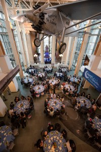 The McDonnell International Scholars Academy Welcome Dinner took place Aug. 30 at the Missouri History Museum. It was a chance for the 2018 cohort to meet current scholars and their faculty ambassadors. (Photo: Mary Butkus/Washington University)