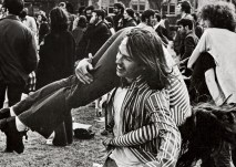 The Quad has been a great venue for concert fun for decades. (WUSTL Archives)