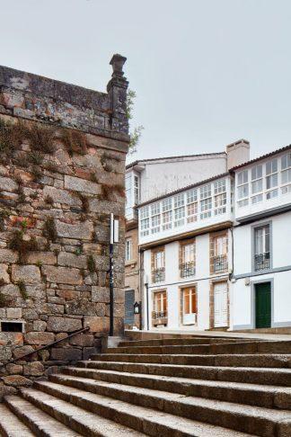 Inferniño Tourist Apartments, Santiago de Compostela, A Coruña, Spain. (All photos: José Hevia/courtesy of Emiliano López Mónica Rivera Arquitectos)