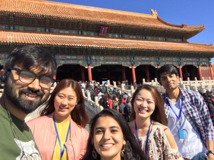 During the symposium, scholars networked, presented posters and had a chance to explore Beijing.