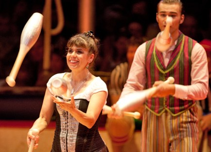 Every year, Circus Flora performs around a theme. For 2012, the show is being created around the magical and enchanting elements of Merlin and the legends of King Arthur. (File photo: Whitney Curtis)