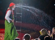 Nino the Clown is a perennial audience favorite. (File photo: Whitney Curtis)