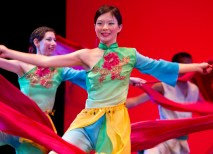 The two-night festival includes 14 dances, a fashion show and a skit. (Whitney Curtis)