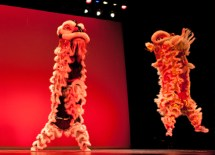 """In honor of the grand and legendary creature, this year's festival theme was """"To Be a Dragon""""; it highlighted a traditional Chinese saying (wang zi cheng long), the idea that all parents want their children to grow up to be dragons. (Whitney Curtis)"""