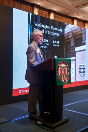 In his keynote address at the Forum for Greater China, F. Sessions Cole, MD, discussed Washington University's current efforts in personalized medicine, as well as the university's involvement in the National Institutes of Science's Undiagnosed Disease Network.