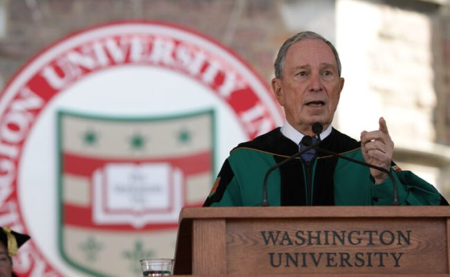 Reclaim Our Civic Dialogue Bloomberg Tells Graduates