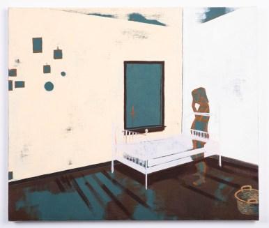 """Rachel Lebo, """"I've forgotten the rest of the story.,"""" 2019. Oil on canvas."""