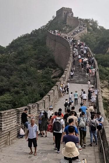 Olin MBA students in China