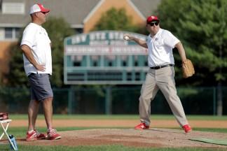 Martin-pitching practice