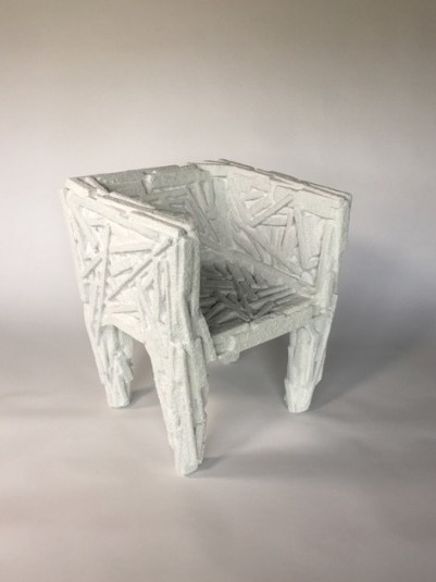 "Amy Hauft, ""Salt Chair,"" from ""Tender Glass"" (2017)."