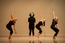 """Dragonflies,"" choreographed by Jennifer Medina (Photo: Danny Reise/Washington University)"