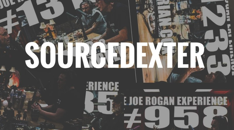 joe rogan podcast sourcedexter