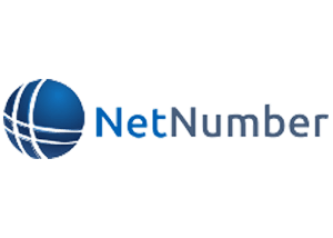 netnumber company logo white