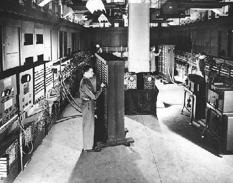 ENIAC - Image taken from Penn Library